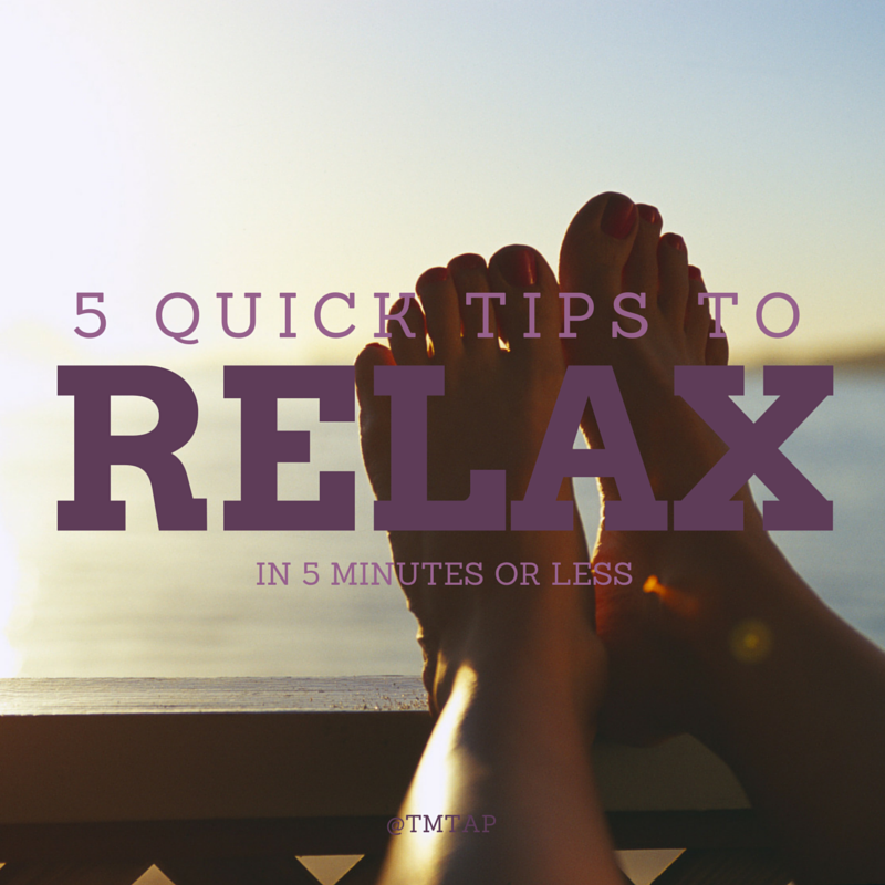 5 relaxation tips