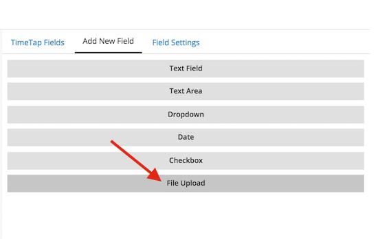 Click the File Upload button