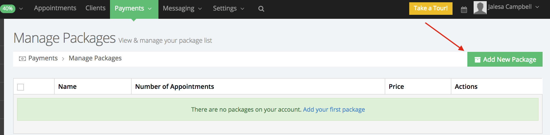 Create a new package