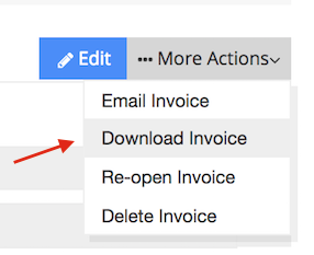 Download the invoice