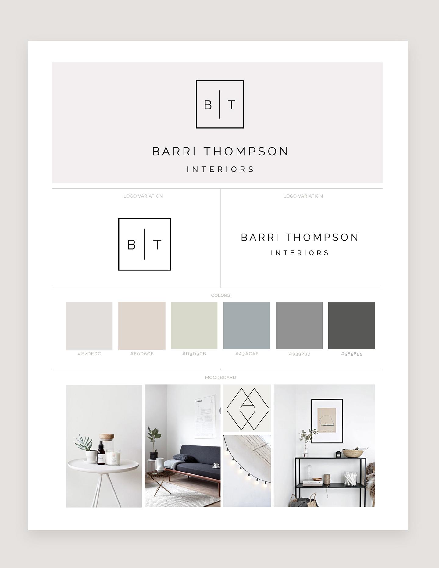 Barri Thompson Branding