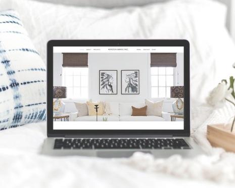 BRANDING | WEBSITE DESIGN - Kirsten Marie Inc.