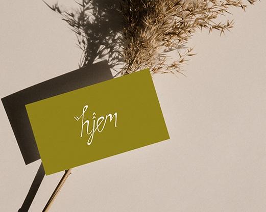 BRANDING design - Hjem Design
