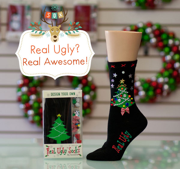 Christmas Tree Sock Kit