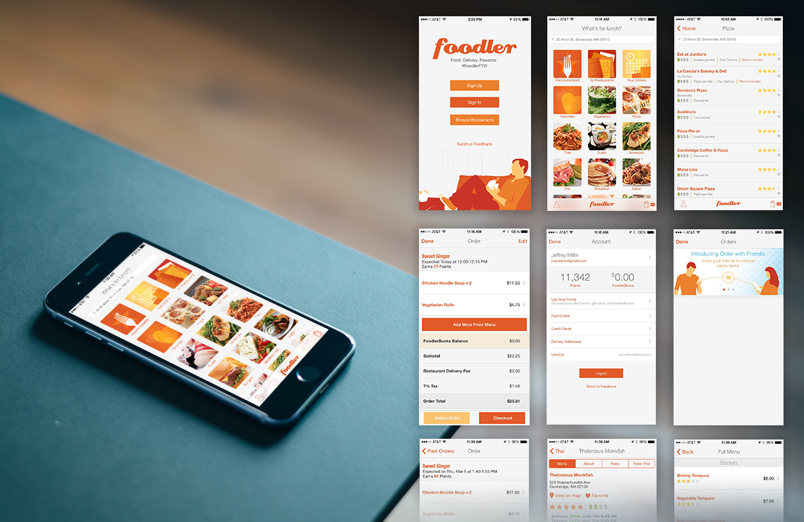 Foodler iOS/Android App