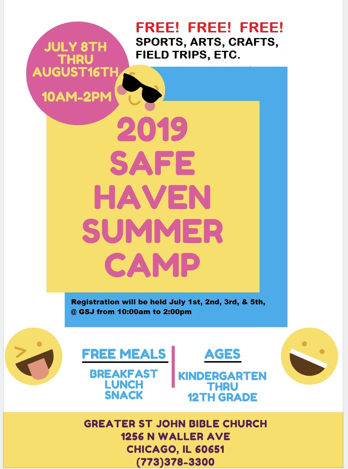 2019 Safe Haven Summer Camp — The Leaders Network