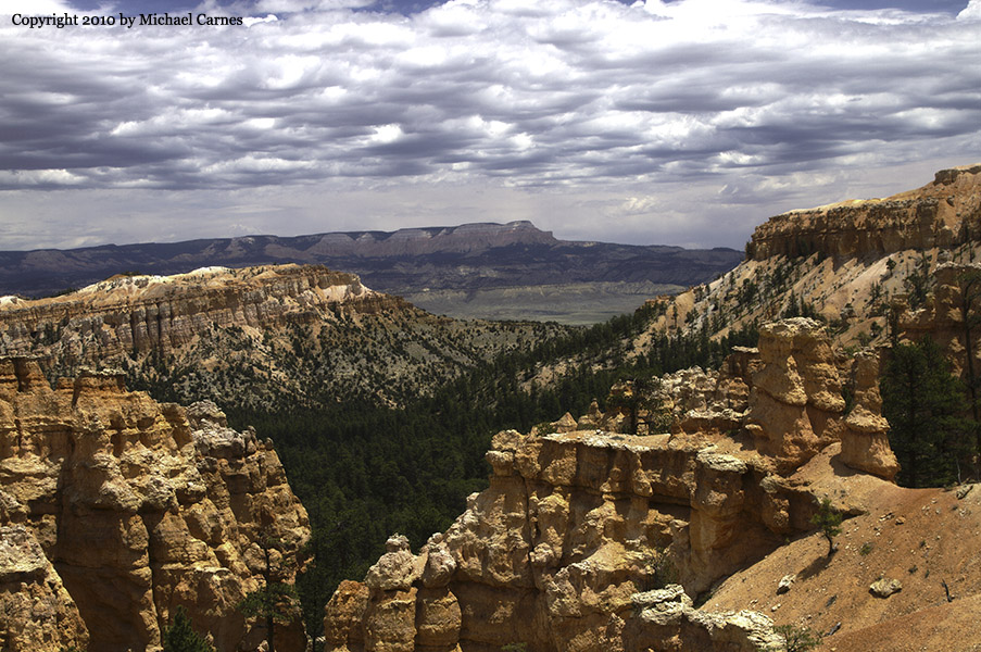 Bryce Canyon with the Grand Staircase in the distance
