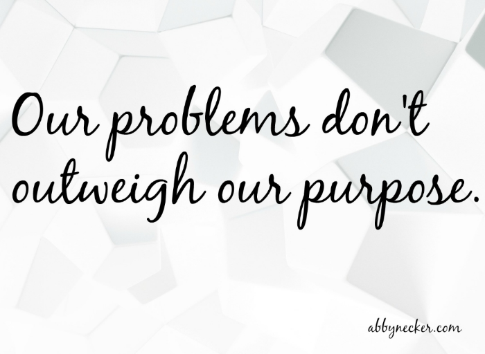 Problems and purpose