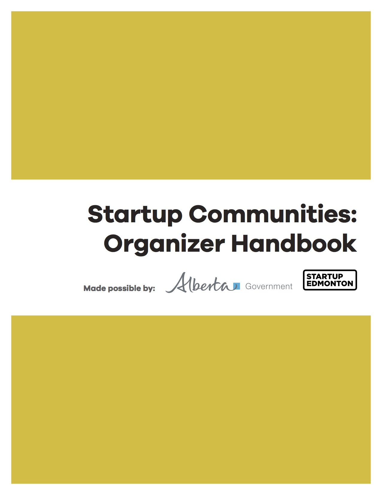 Click to download: Suggestions, formats, tools and templates to help foster community meetups in your town or city.