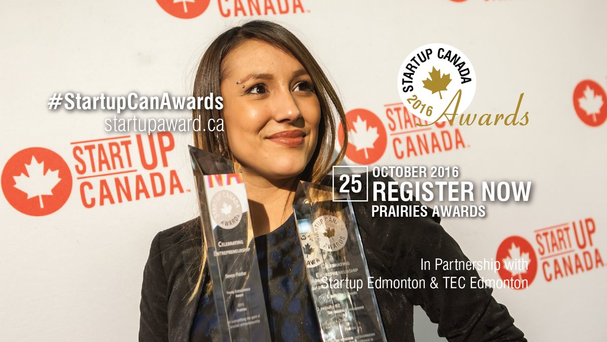 """Startup Canada Regional Awards (Prairies) - Enjoy a toast as we celebrate the movers and shakers of the Alberta entrepreneurship movement at the Startup Canada Regional Awards, a red carpet event!  """"The Canada of the 21st century will be defined by our ability to innovate, grow globally competitive businesses and unlock the entrepreneurial culture and competencies of every Canadian. It will be defined by our entrepreneurial environment and performance.""""said Victoria Lennox, CEO of Startup Canada.""""The Startup Canada Awards distinguish these entrepreneurial Canadians trailblazing the way for our country to emerge as a leading innovation nation.""""   The Startup Canada Awards are the hallmark event celebrating and distinguishing the Canadian entrepreneurship community."""