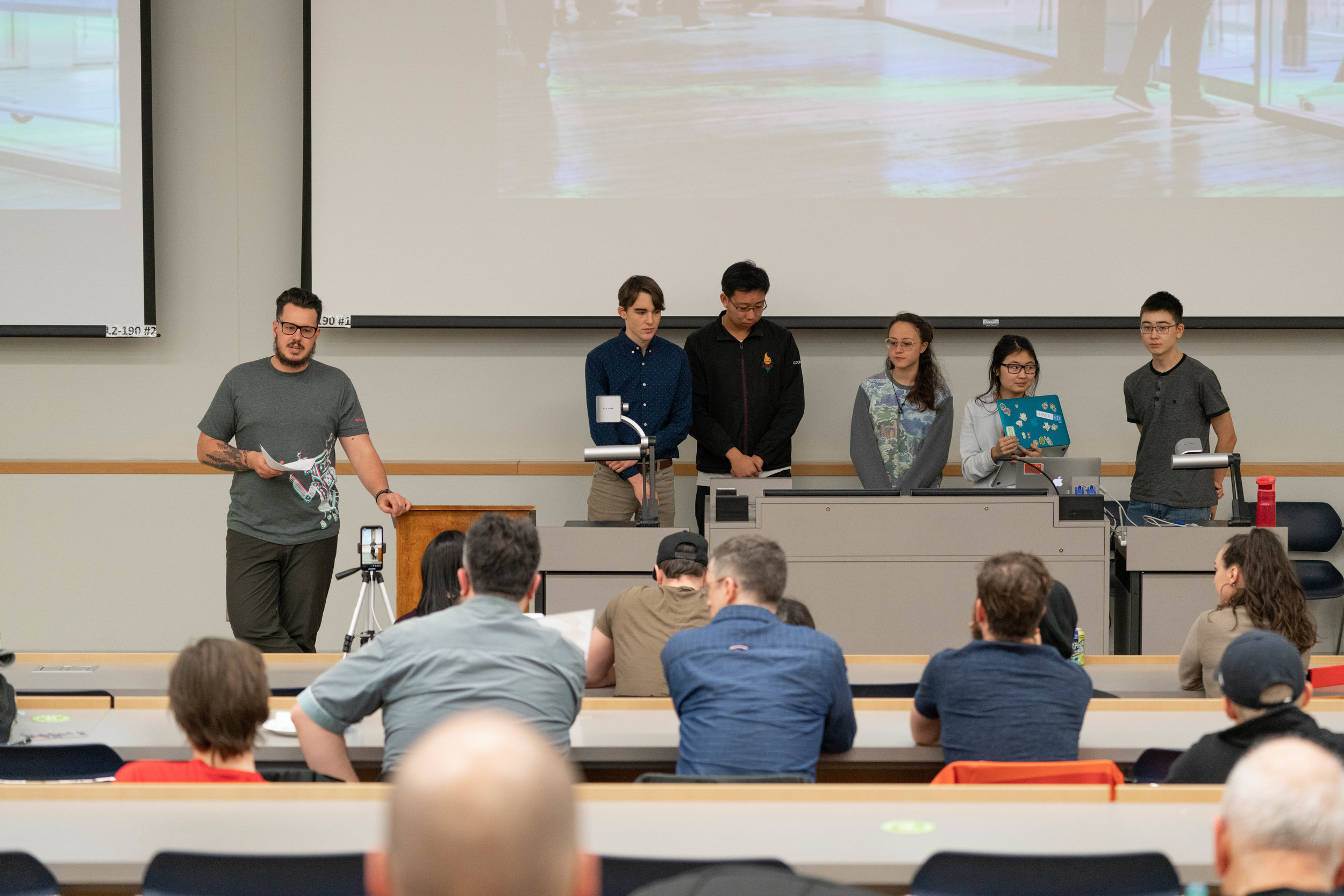 DemoCamp 43 featured teams from the Fall HackED Beta Hackathon!