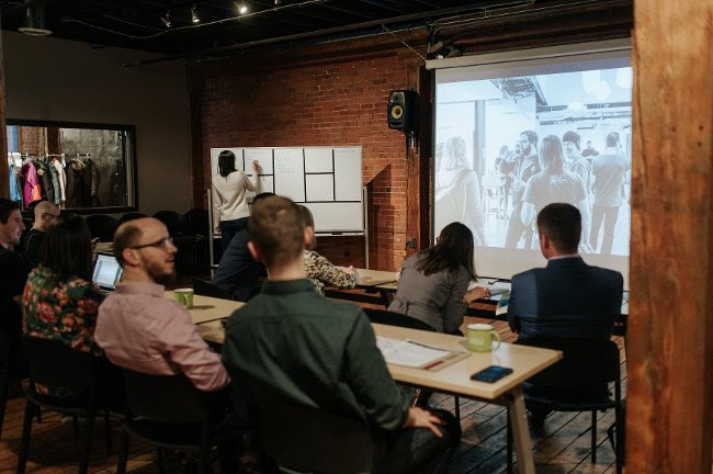 Work on your tech product idea at Preflight - Startup Edmonton's flagship program to support early-stage entrepreneurs.