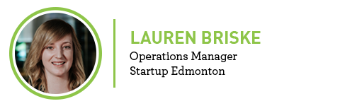 Lauren Briske Operations Manager Startup Edmonton