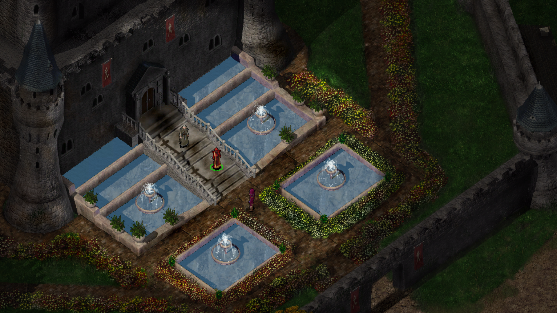 A screenshot from Beamdog's  Baldur's Gate Enhanced Edition.  Beamdog has faithfully adapted a number of classic BioWare titles for modern gaming systems, and has just released  Axis & Allies Online , its first unique title.