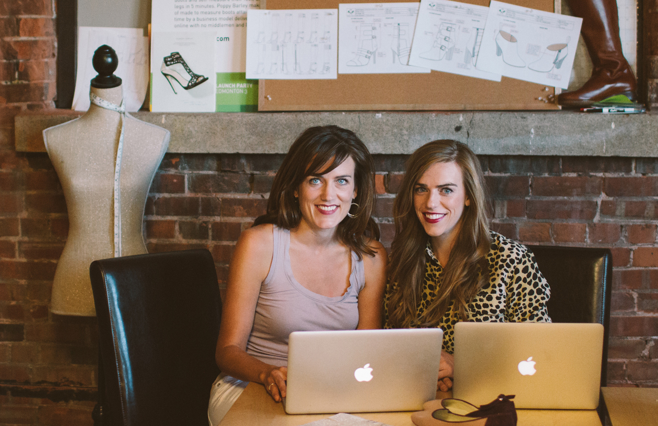 Poppy Barley's founders Justine and Kendall Barber. Photo Credit: PoppyBarley.com