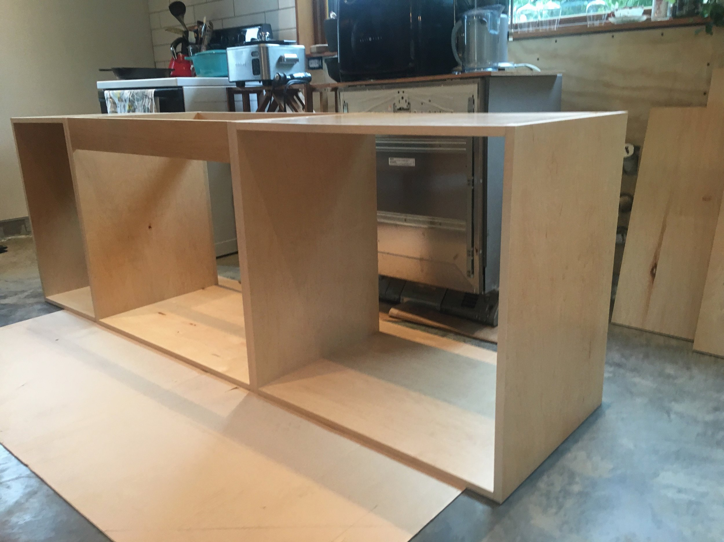 Cabinet Build