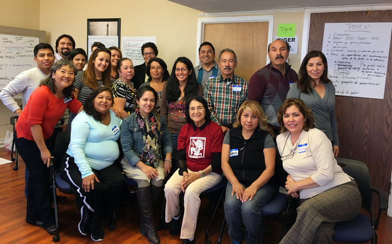 Dolores Huerta Foundation 2018