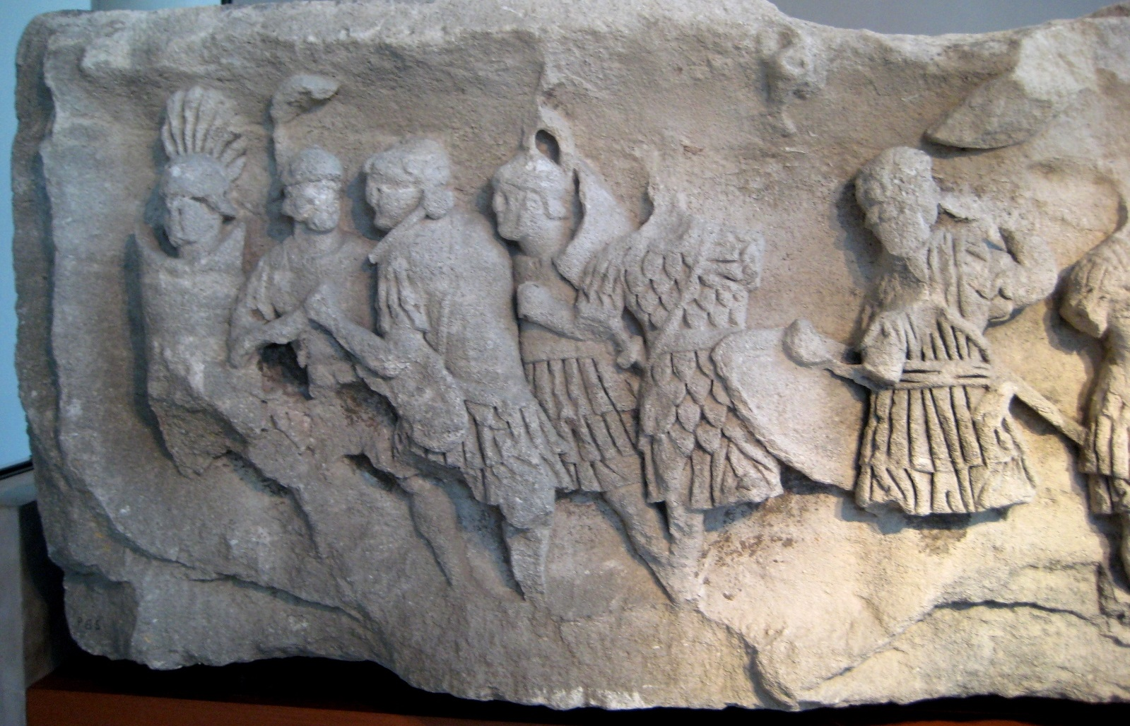 Frieze of Soldiers. Augustan.