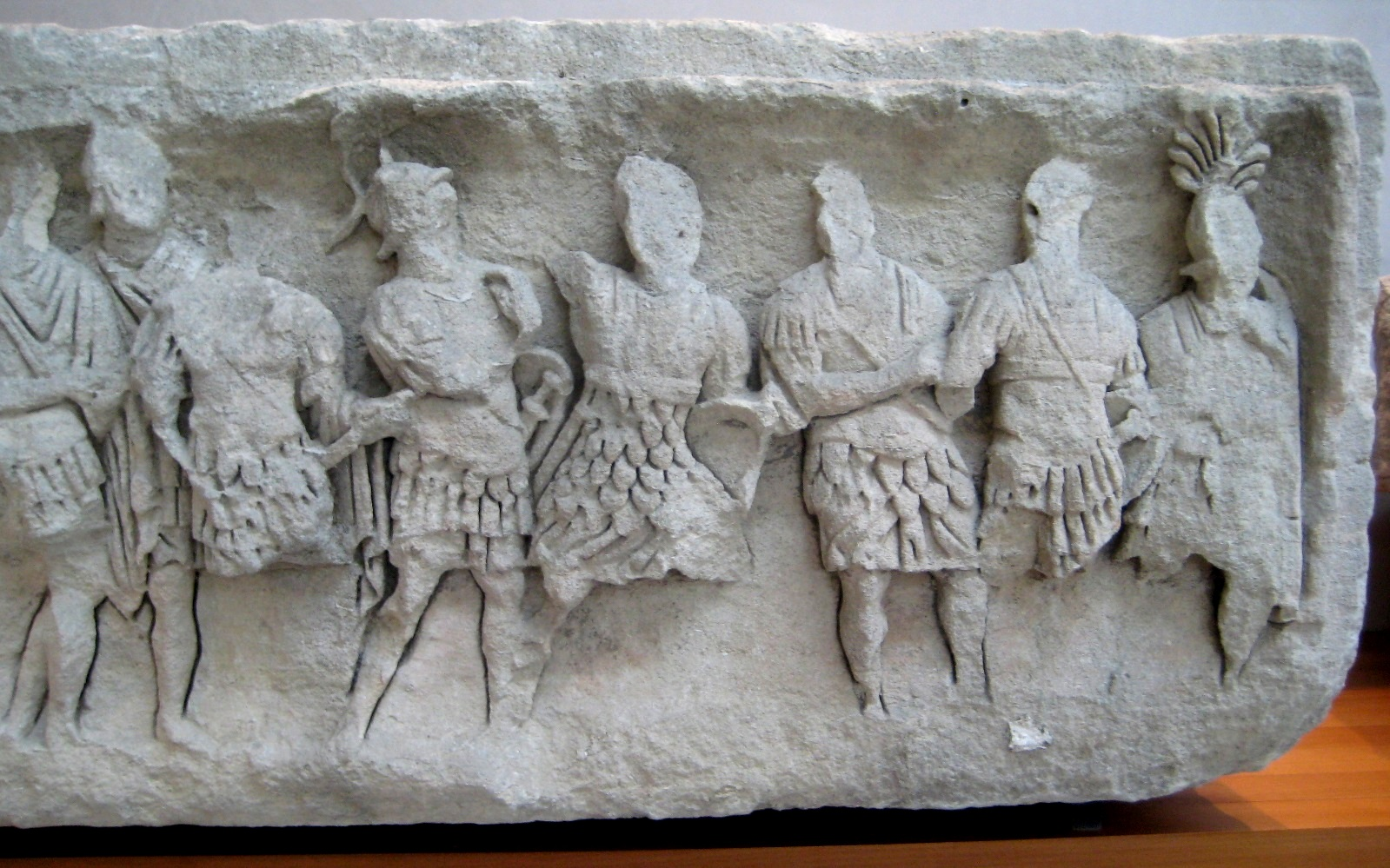 Frieze of Soldiers, Augustan