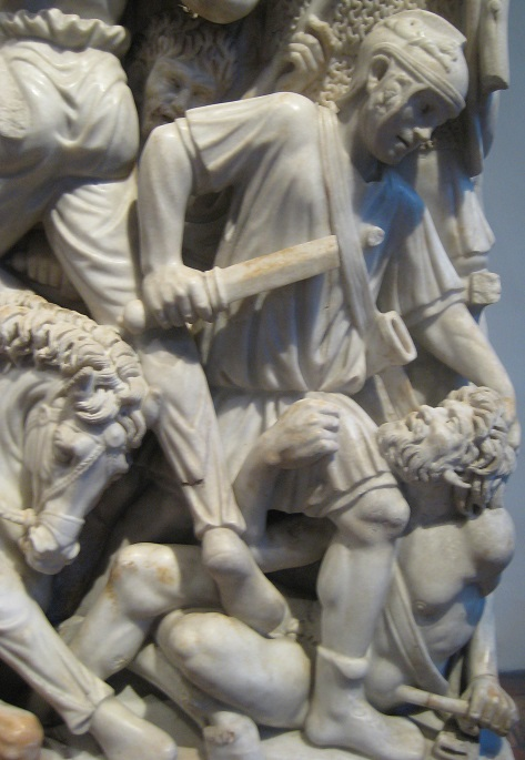 The Ludovisi Sarcophagus (mid 3rd century AD): an accurate depiction of ancient warfare, or just a dramatic one?
