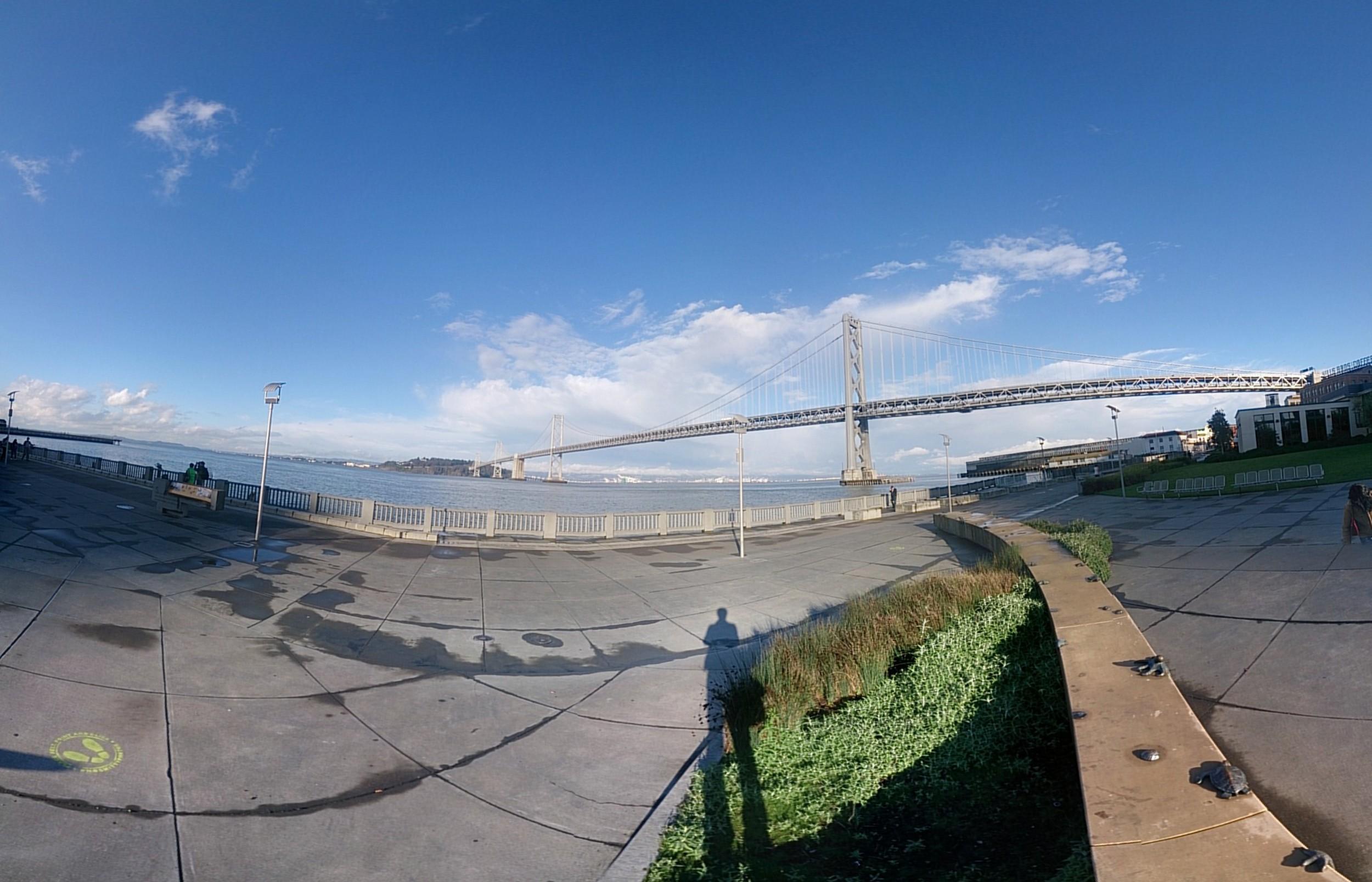 Bay Bridge, Treasure Island