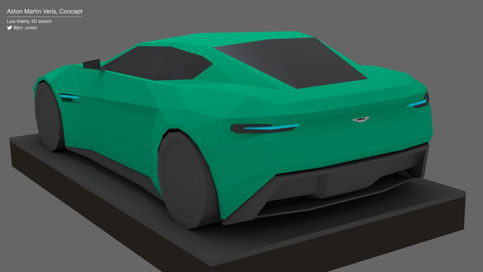Aston Martin Veris Concept