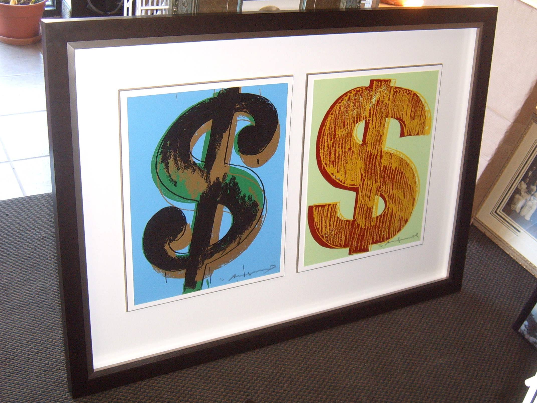 Limited Edition Andy Warhol Prints.
