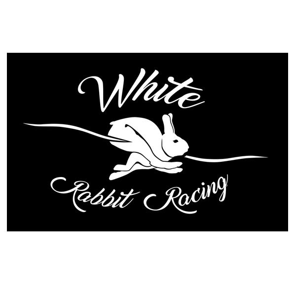 White Rabbit Racing logo and Banner for White Rabbit Racing