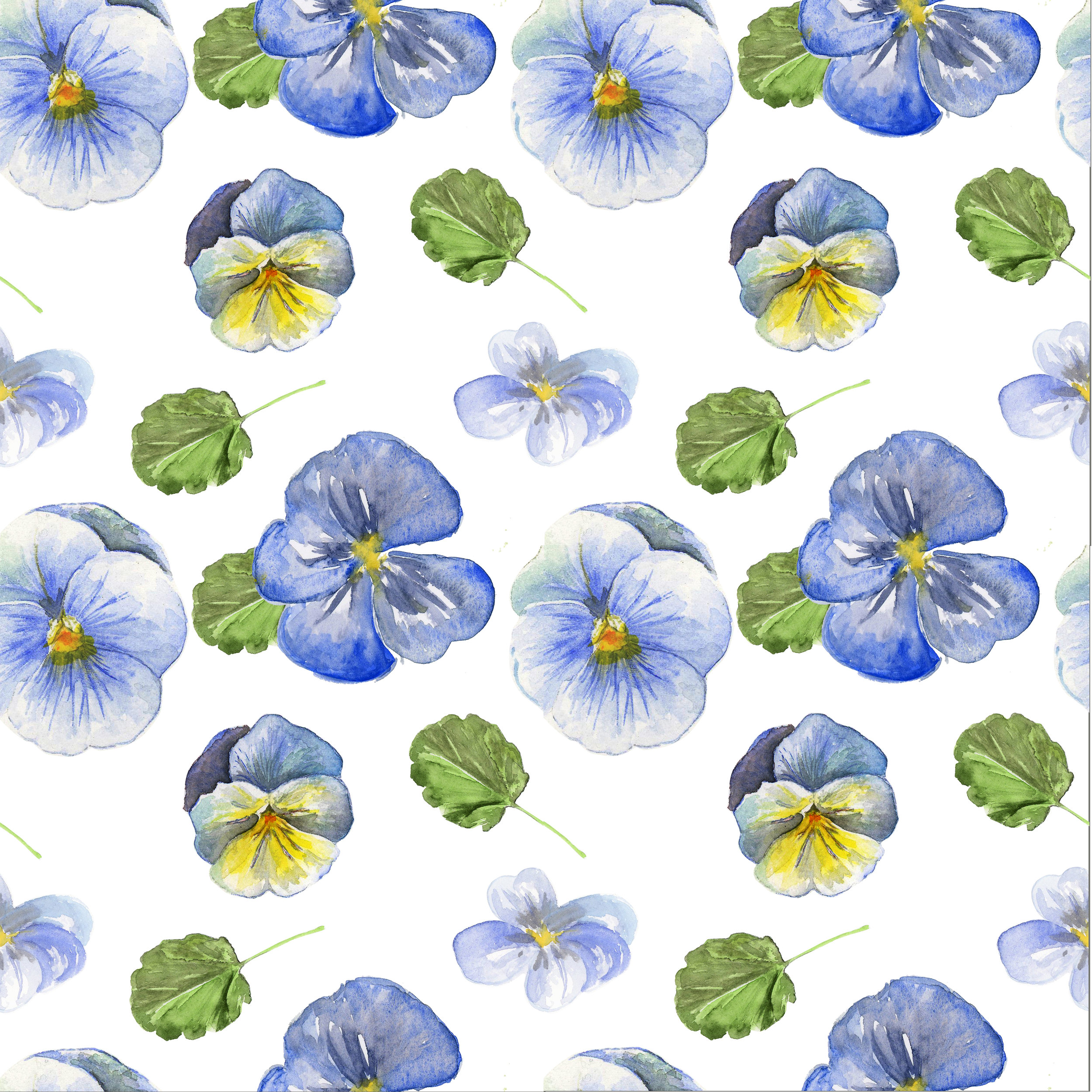 Pansy Floral Patter