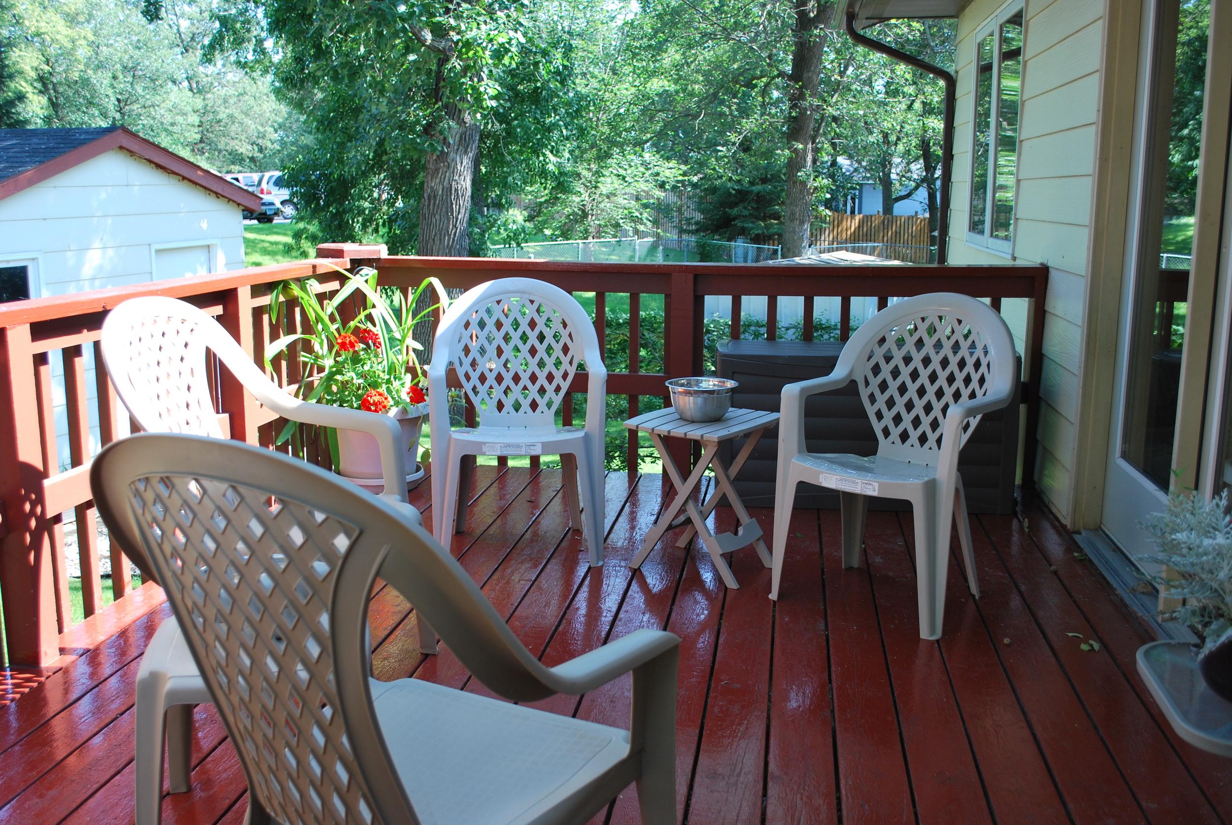 Backyard Deck - Beacon House (AFC)