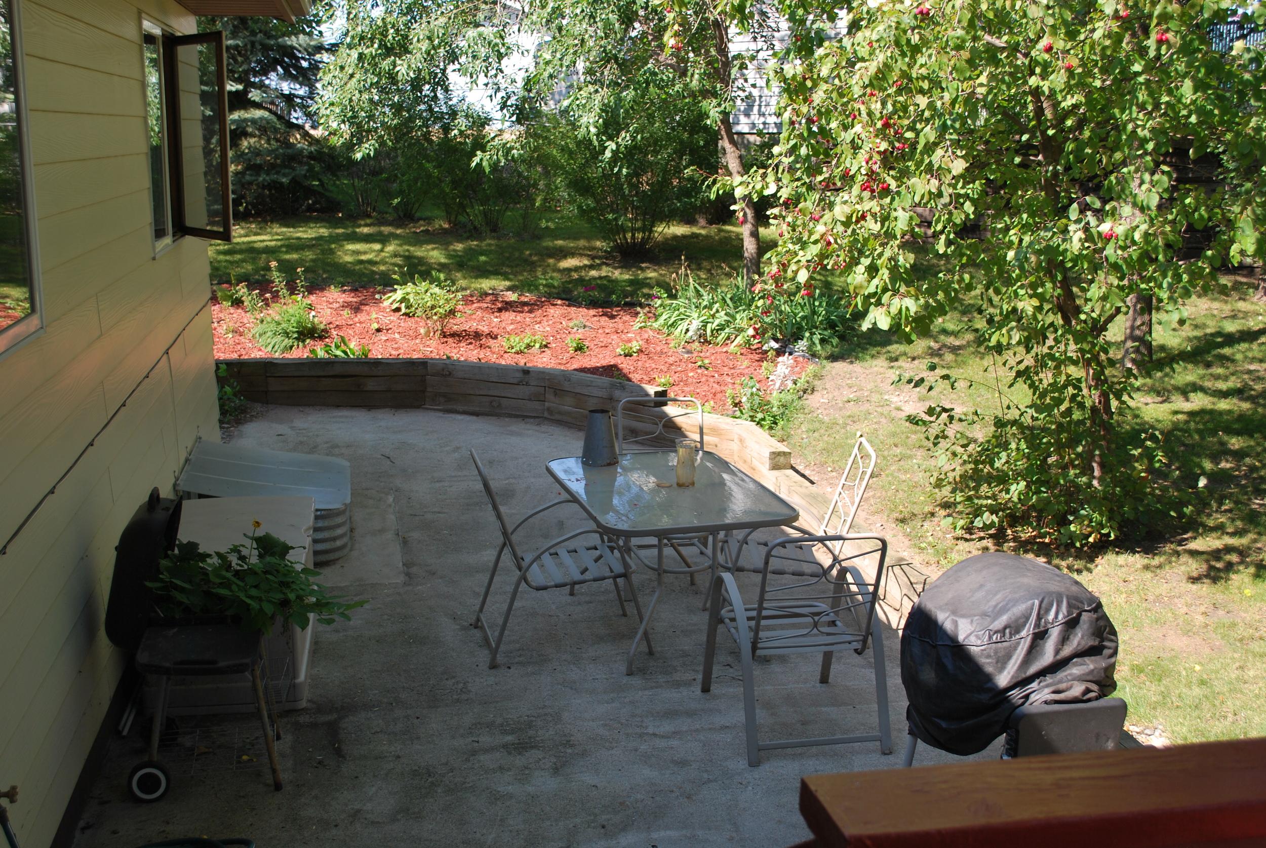 Backyard Patio - Beacon House (AFC)