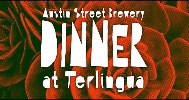 Wednesday  November 7th 5-9 @terlinguabbq x @austinstreetbrewery  #payg #beerfood  #207beerweek