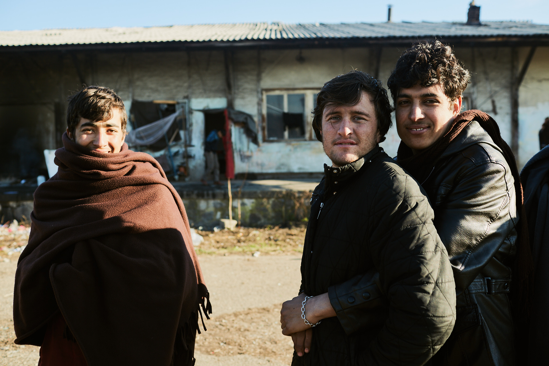 Afghanistan - Refugees, Belgrade, Serbia