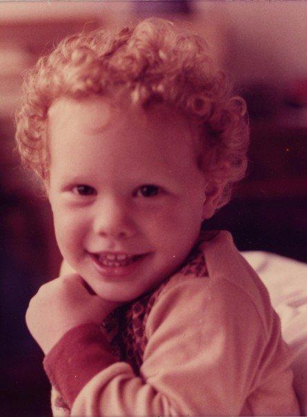 Michael Slezak as a child