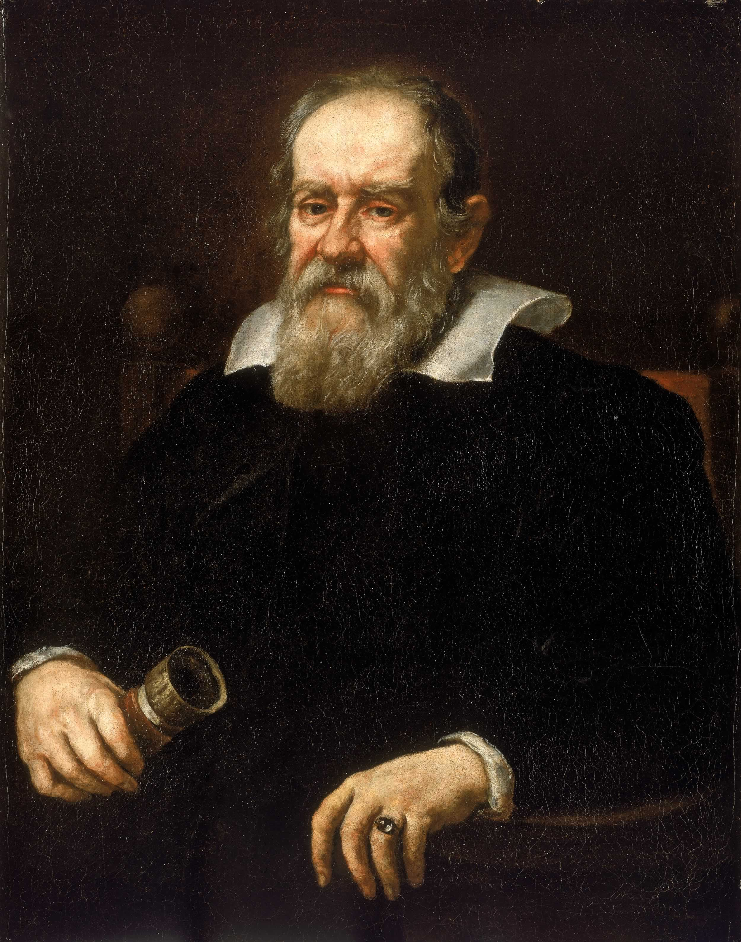 Galileo Galilei, the astronomical heretic   Justus Sustermans/Wikimedia Commons  (public domain)