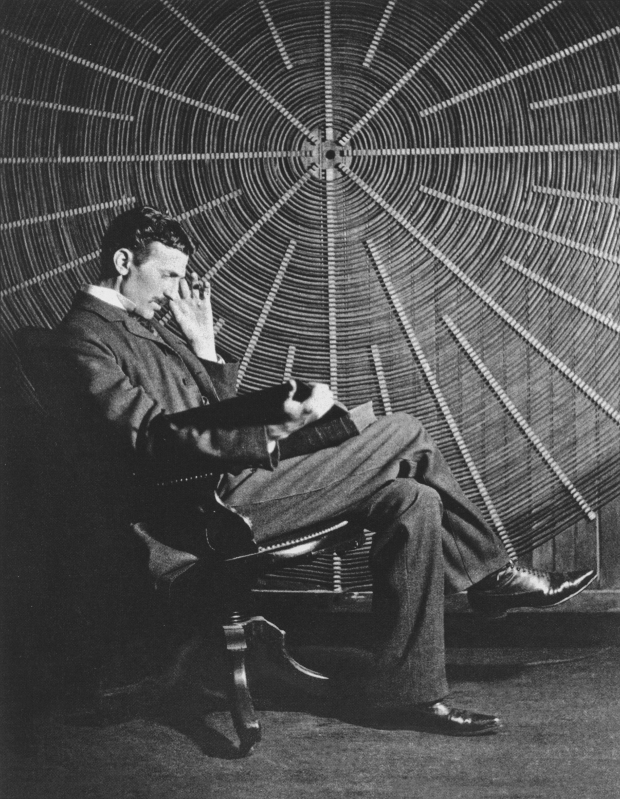 Nikola Tesla, the quirky inventor   Tonnelé and Co./Wikimedia Commons  (public domain)