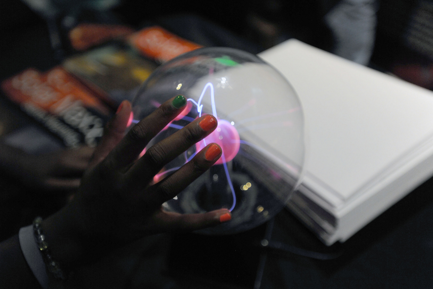Hands-on interaction with physical representations of complex or abstract ideas can boost student confidence, engagement and interest in STEM learning areas.   NASA Goddard Space Flight Center/Flickr  (CC BY 2.0)