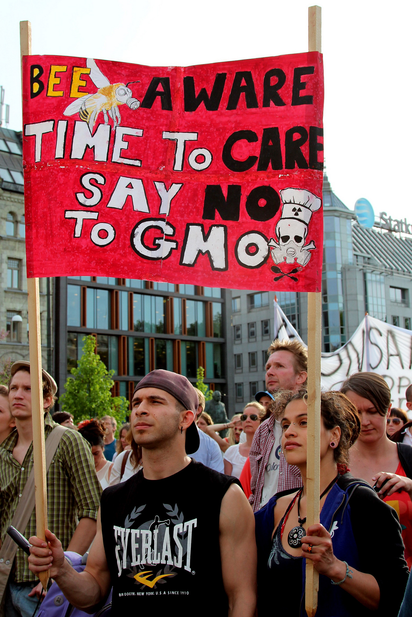 Many consumers worldwide are concerned about the effects of GMOs on health and the environment.   Miljøpartiet De Grønne/Flickr  (CC BY-SA 2.0)