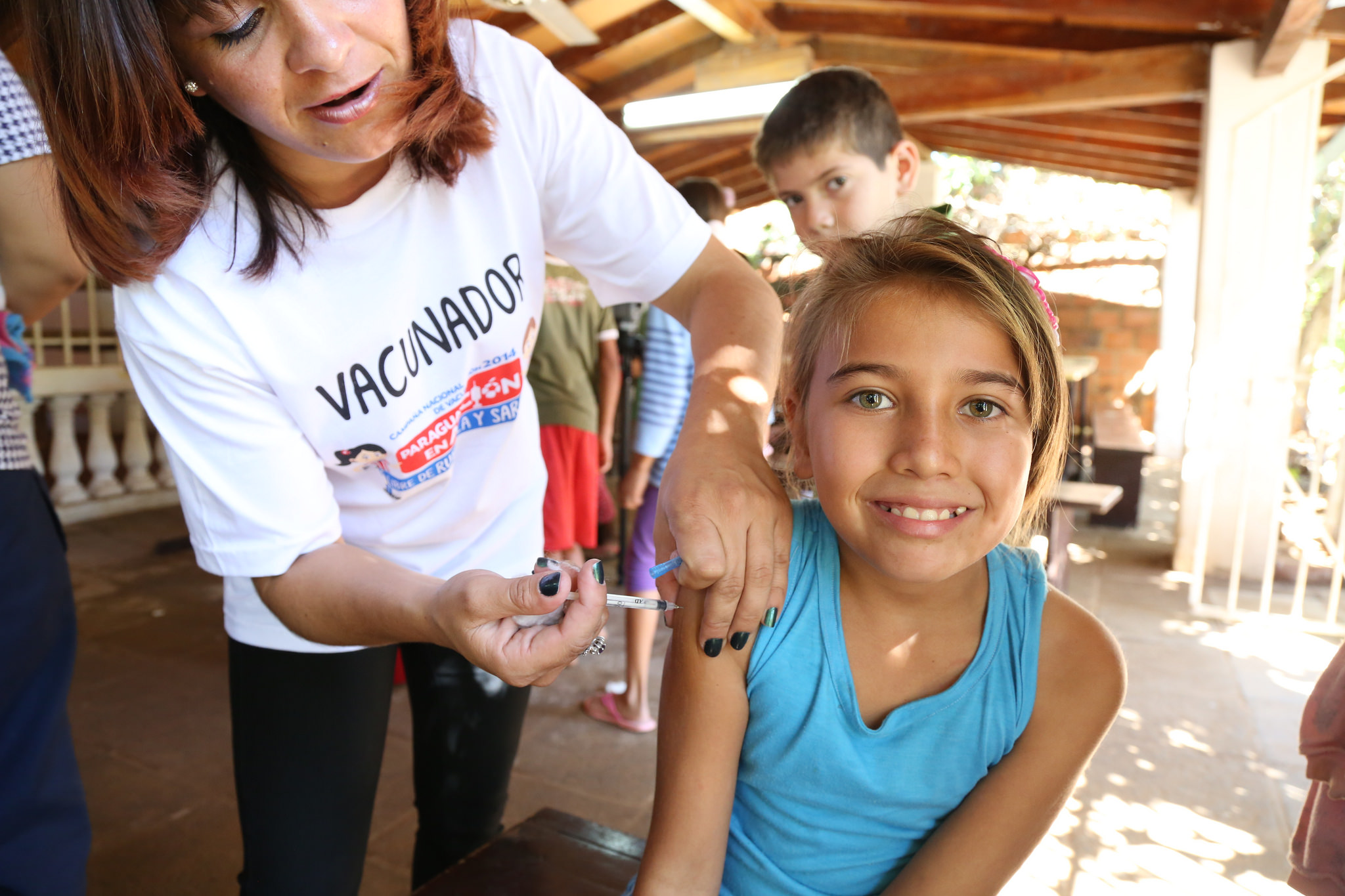 Science is vital in enabling enormously successful public health measures, such as vaccination.  Pan American Health Organisation/Flickr  (CC BY-ND 2.0)