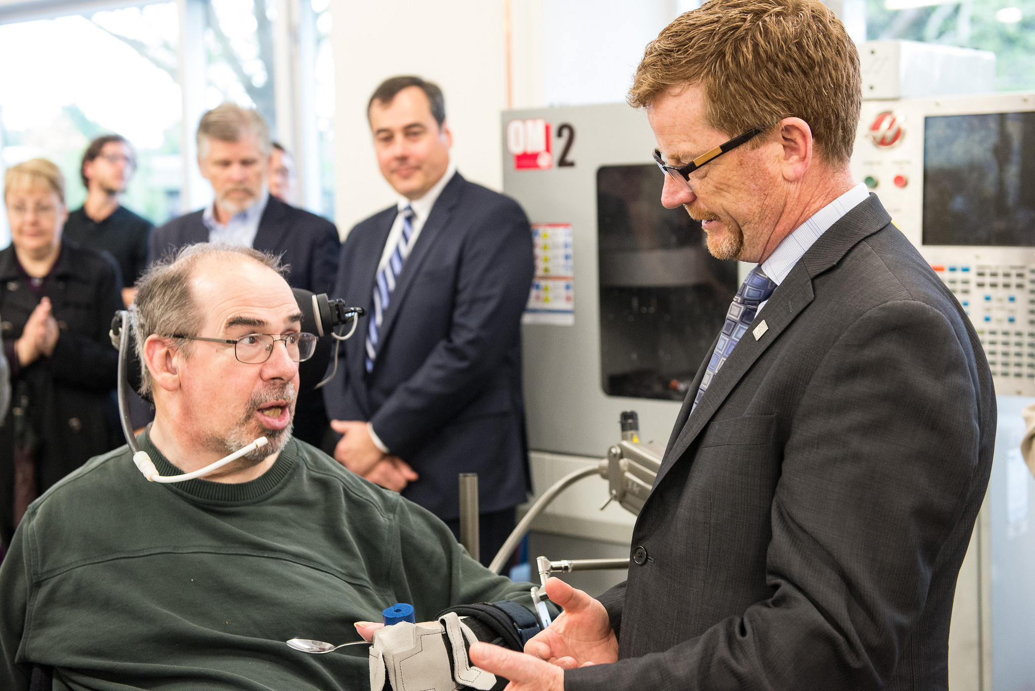 Advances in technologies that support movement, speech and physical action are starting to have a positive impact on the lives of those with disability. Province of British Columbia/Flickr  (CC BY-NC-ND 2.0)