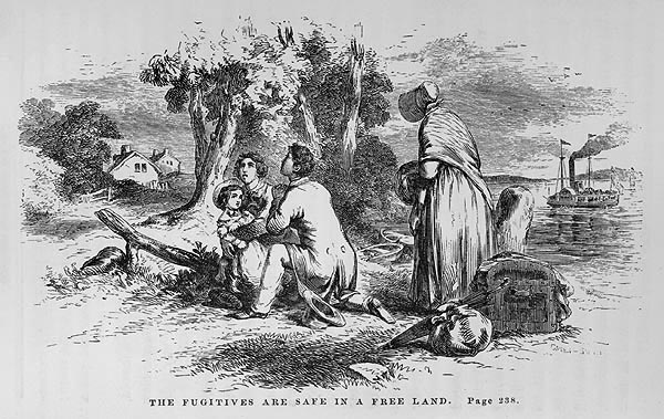 An illustration from Uncle Tom's Cabin, a book credited with helping Americans empathise with the injustices of slavery.     Harriet Stowe/Wikimedia Commons    (public domain).