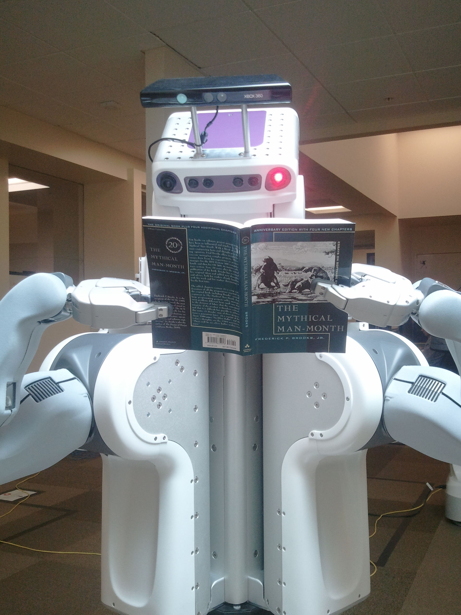 Reading science fiction may change the nature of our relationship with robots.     Troy Straszheim/Wikimedia Commons    (CC BY 3.0).