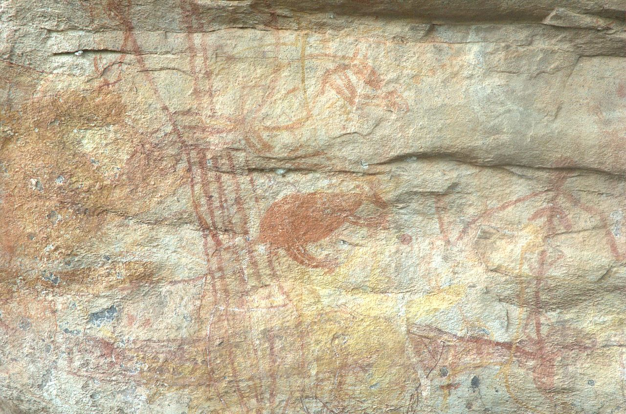 Along with rock paintings, dance has formed an integral part of storytelling in Australian Indigenous cultures for thousands of years.   PanBK/Wikimedia Commons  (CC BY-SA 3.0)
