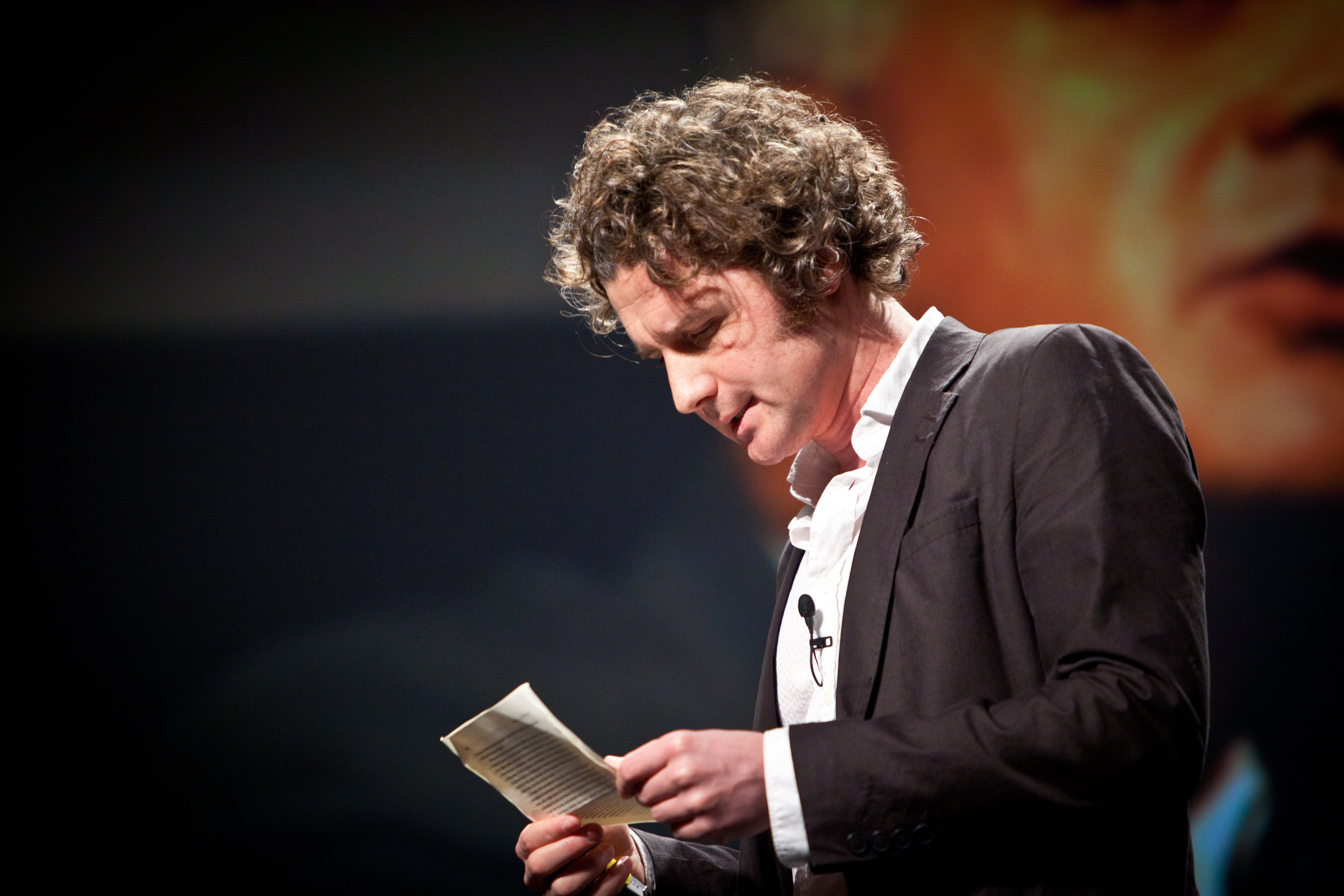 Ben Goldacre often gives free talks critiquing 'bad science,' including health scares or pseudoscience.   PopTech/Flickr   ( CC BY-SA 2.0 )