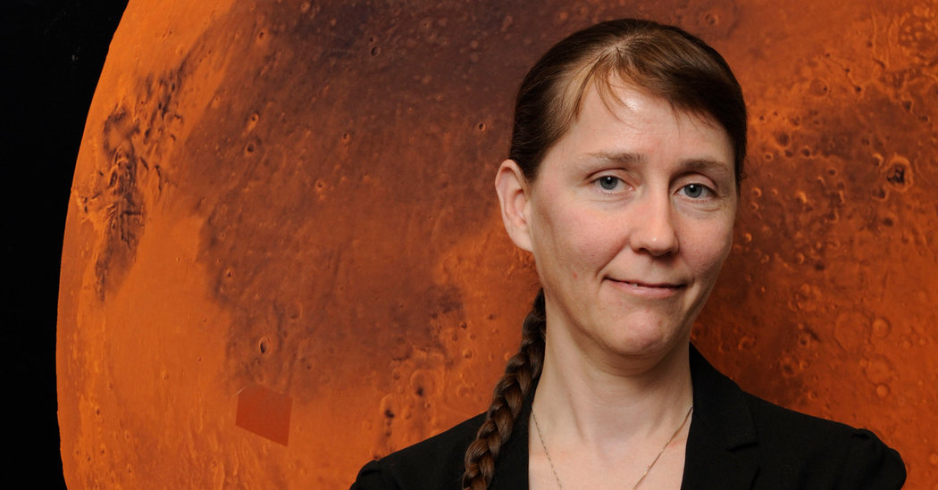 Catharine Conley is a Planetary Protections Officer employed by NASA. She is the closest Earth has to an alien intermediary. NASA (public domain)