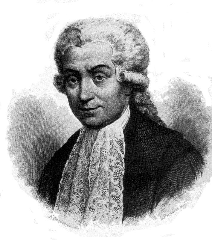 Portrait of Luigi Galvani.   Wikimedia Commons  (public domain)