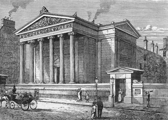 Surgeons' Hall, Edinburgh.   Wikimedia Commons  (public domain)