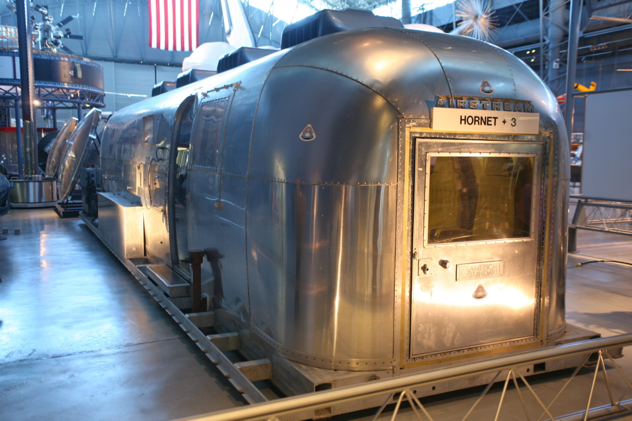 NASA converted four Airstream caravans to serve as Mobile Quarantine Facilities. Later versions of the Airstream caravan would transport astronauts during NASA's shuttle program.   Cliff/Flickr  (CC BY 2.0)