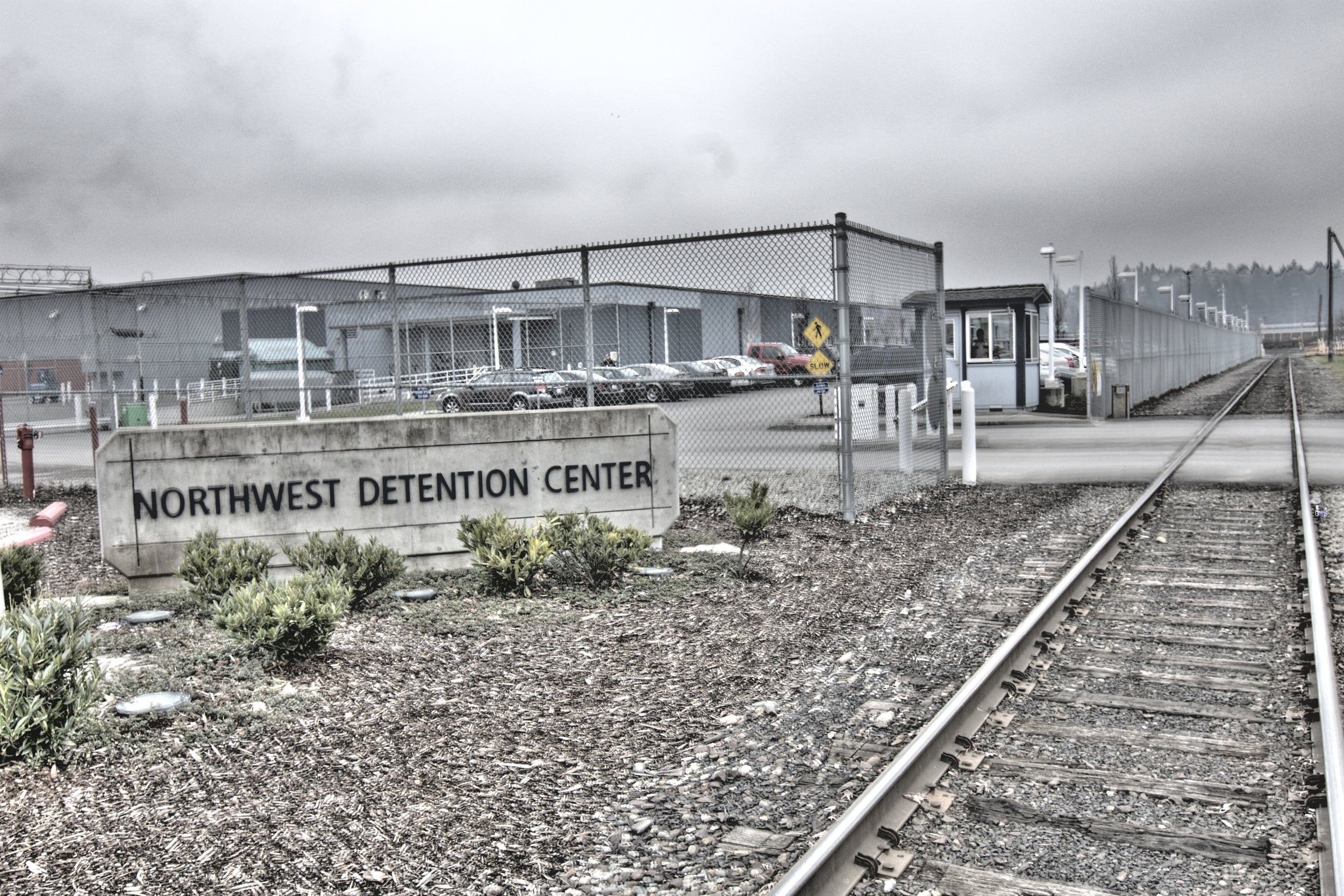 The Northwest Detention Center in Tacoma, Washington, where Mergensana Amar spent his final days.   Seattle Globalist/Flickr  (CC BY-SA 2.0)