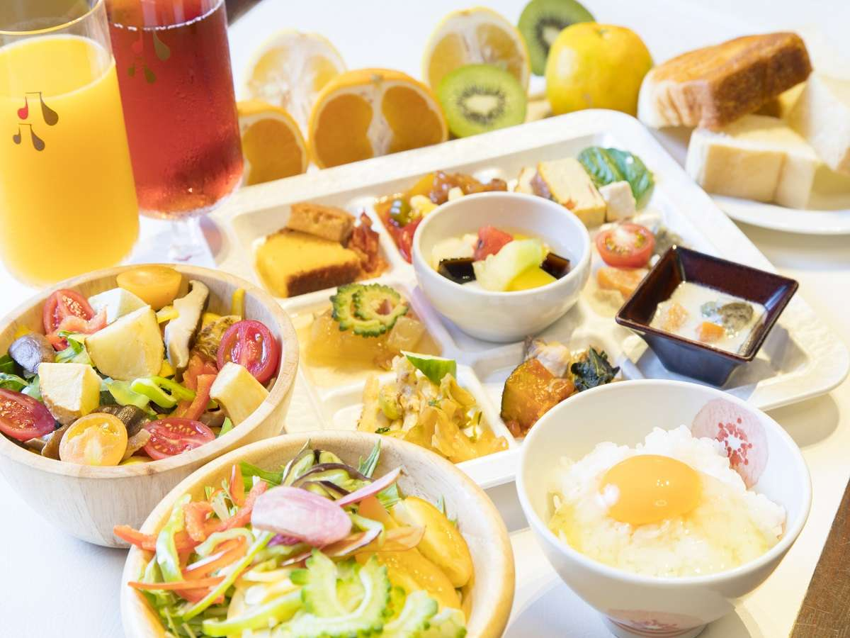 Japanese Style Breakfast Buffet